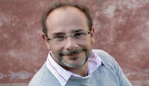 Ignacio Padilla, Mexican writer in Aix en Provence, October 15, 2011.