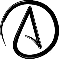 Universal symbol of atheism, atheists