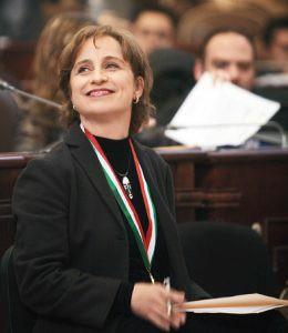 carmen aristegui y Televisa