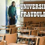 Expedir títulos es un negocio: universidades fraudulentas