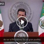 Mensaje de Peña Nieto llama a la unidad nacional y olvida el nuevo gasolinazo