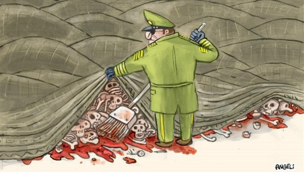 No me gustan las dictaduras