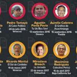 100% de impunidad en periodistas asesinados en el sexenio de Peña Nieto