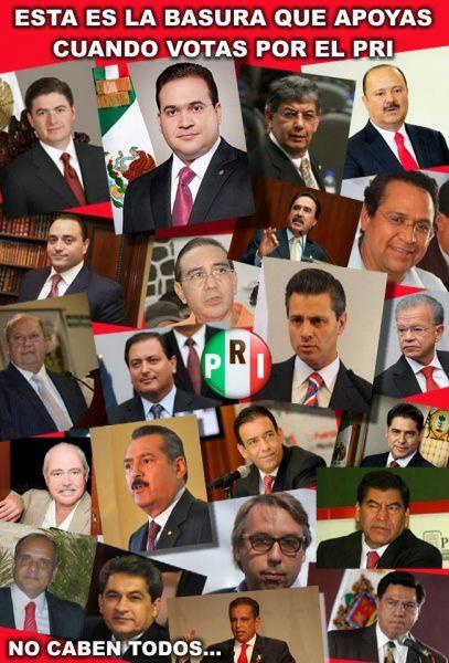 Poema a políticos mexicanos