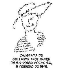 Caligrama de Guillermo Apollinare en las vanguardias literarias del siglo XX
