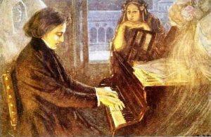 Chopin y George Sand