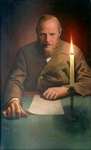 Novelista y poeta Fiodor Dostoyevsky