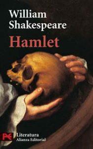 Portada de Hamlet, una tragedia del inglés William Shakespeare