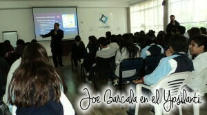 cursos y conferencias de joe barcala, en el instituto ypsilanti