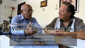 El sistema educativo es anacrónico según Vicente López Rocher, Ph. D.