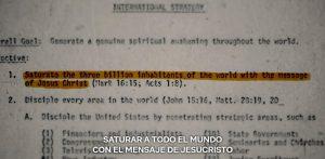 """El poder de la iglesia sobre el gobierno de EUA: Miniserie """"La familia""""."""