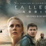 """Película """"La Llegada"""": estupenda visión de un encuentro extraterrestre."""