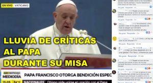 Crece el repudio hacia la Iglesia Católica